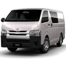Car Rental HiAce in Yogyakarta